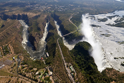 VICTORIA FALLS DRYING UP?